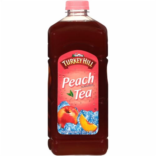 Turkey Hill Peach Tea Perspective: front