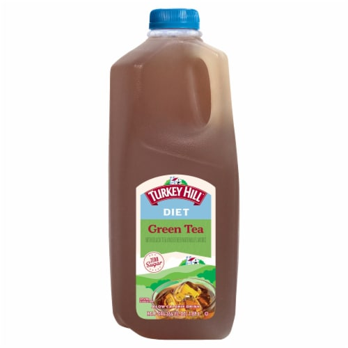 Turkey Hill® Diet Ginseng & Honey Green Tea Perspective: front