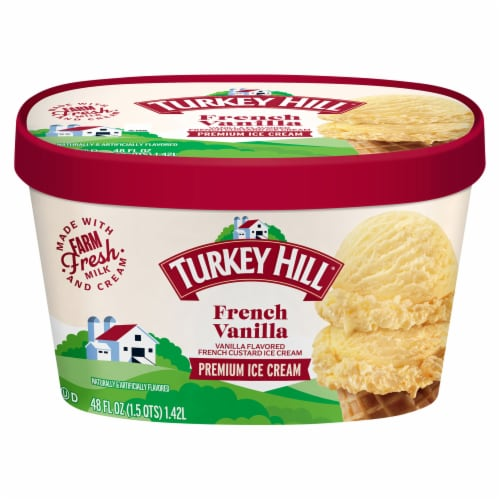 Turkey Hill® French Vanilla Ice Cream Perspective: front