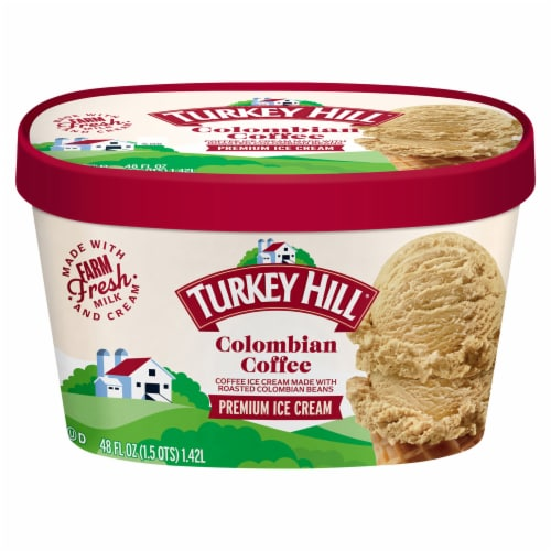 Turkey Hill® Colombian Coffee Ice Cream Perspective: front
