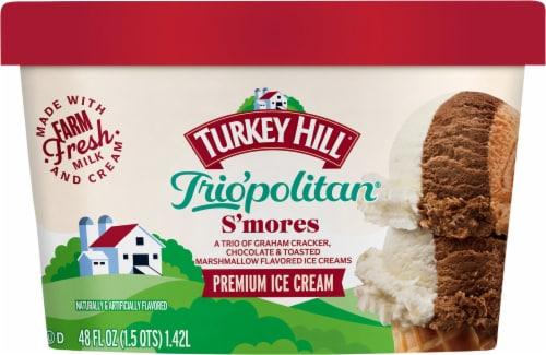 Turkey Hill Trio'politan Coco Loco Premium Ice Cream Perspective: front