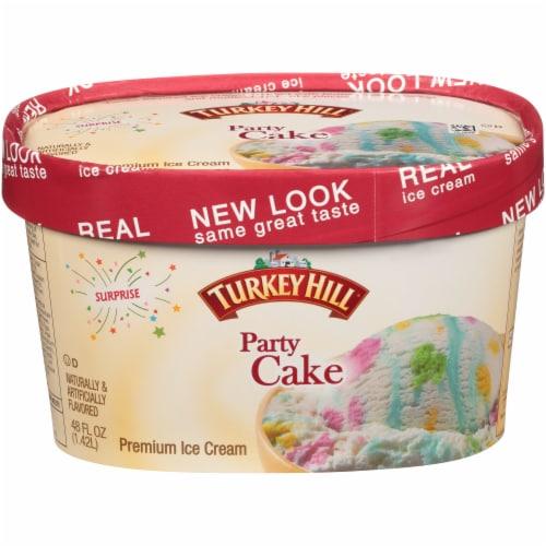 Kroger Turkey Hill Party Cake Premium Ice Cream