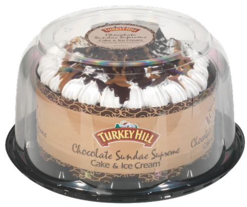 Turkey Hill® Chocolate Sundae Supreme Ice Cream Cake Perspective: front