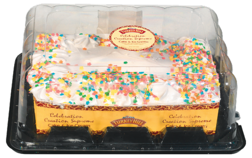 Kroger Turkey Hill Celebration Creation Supreme Ice Cream Cake