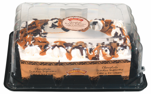 Turkey Hill® Chocolate Sundae Ice Cream Cake Perspective: front
