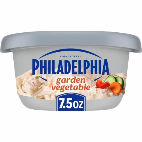 Philadelphia Garden Vegetable Cream Cheese Perspective: front