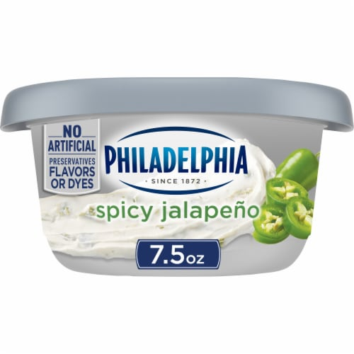 Philadelphia Jalapeno Cream Cheese Perspective: front