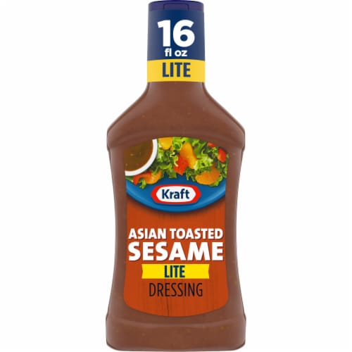 Kraft Lite Asian Toasted Sesame Dressing Perspective: front