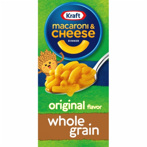 Kraft Whole Grain Original Macaroni & Cheese Dinner Perspective: front