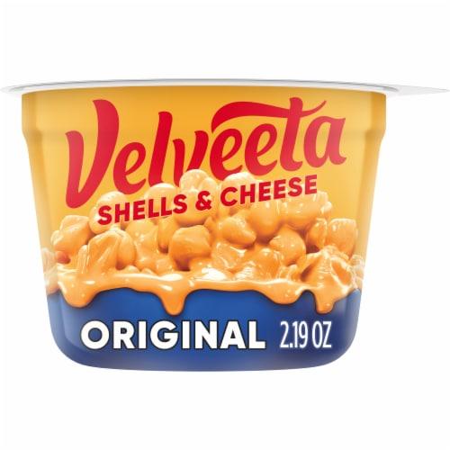Velveeta Original Shells & Cheese Single Serve Cup Perspective: front