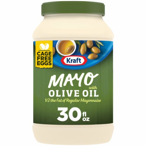 Kraft Olive Oil Mayonnaise Perspective: front