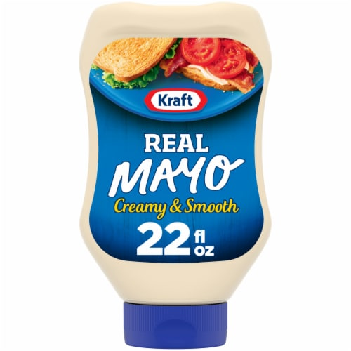 Kraft Real Mayonnaise Squeeze Bottle Perspective: front