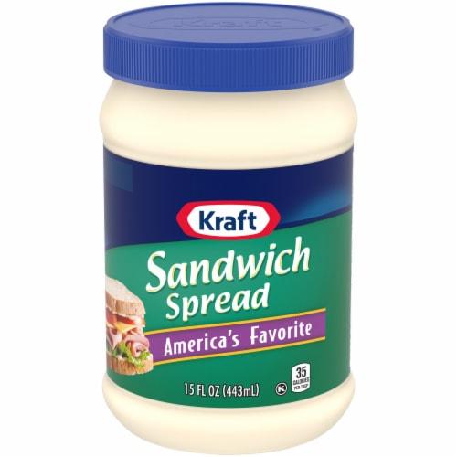 Kraft Sandwich Spread Perspective: front