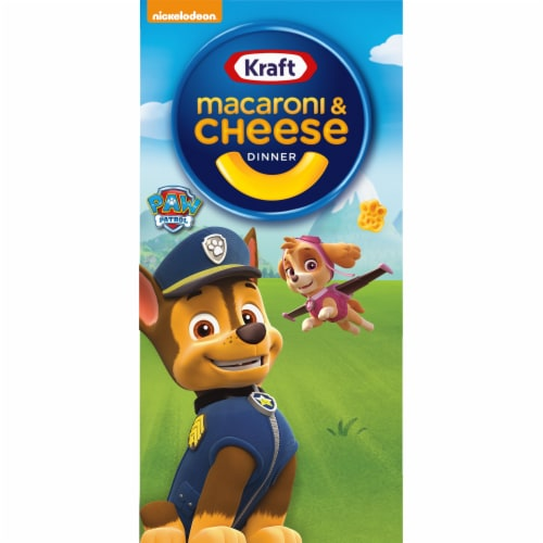 Kraft Paw Patrol Shapes Macaroni & Cheese Dinner Perspective: front