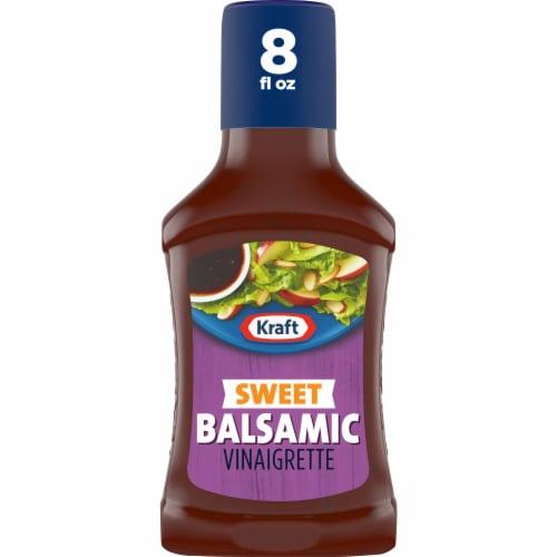 Kraft Sweet Balsamic Vinaigrette Perspective: front