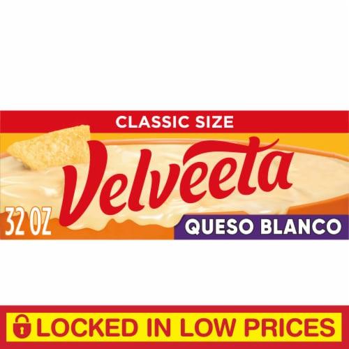 Velveeta Queso Blanco Cheese Perspective: front