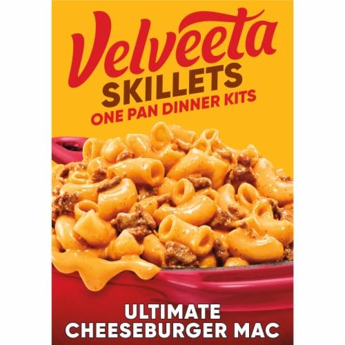 Velveeta Skillets Ultimate Cheeseburger Mac One Pan Dinner Kit Perspective: front
