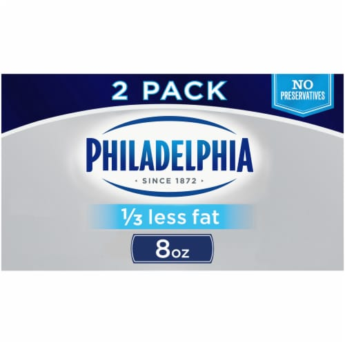 Philadelphia Neufchatel Cheese Perspective: front