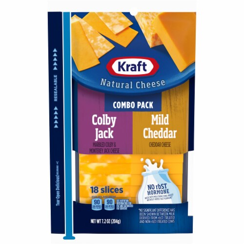 Kraft Colby Jack and Mild Cheddar Combo Pack Perspective: front