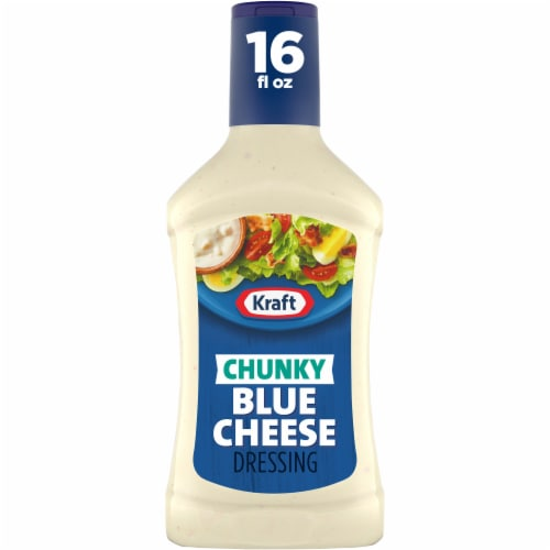 Kraft Chunky Blue Cheese Dressing Perspective: front