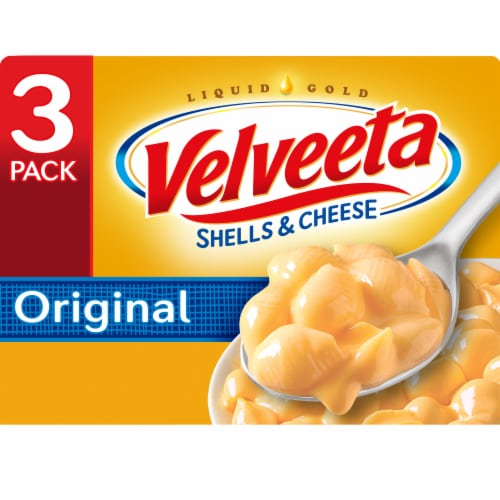Velveeta Original Shells & Cheese Dinner Perspective: front