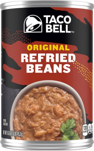 Taco Bell Original Refried Beans Perspective: front