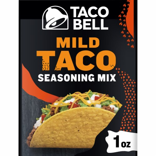 Taco Bell Mild Taco Seasoning Mix Perspective: front