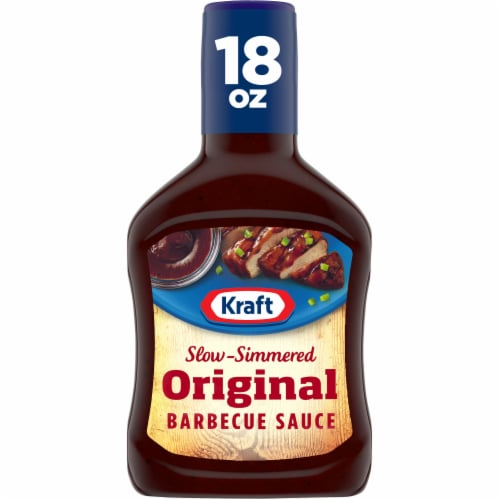 Kraft Original Slow-Simmered Barbecue Sauce & Dip Perspective: front
