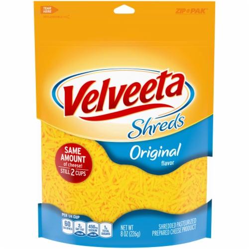 Velveeta Shreds Original Flavor Shredded Cheese Perspective: front