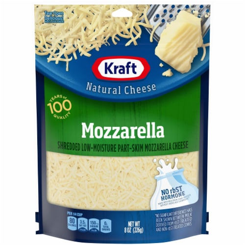 Kraft Shredded Mozzarella Natural Cheese Perspective: front