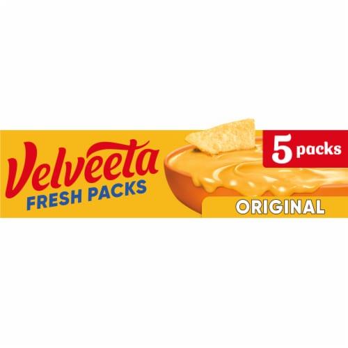 Velveeta Original Cheese Fresh Packs Perspective: front