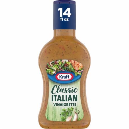 Kraft Italian Classic Italian Vinaigrette Dressing Perspective: front
