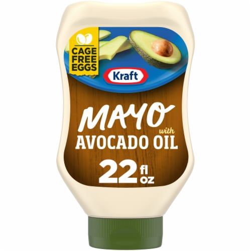 Kraft Reduced Fat Avocado Oil Mayonnaise Perspective: front