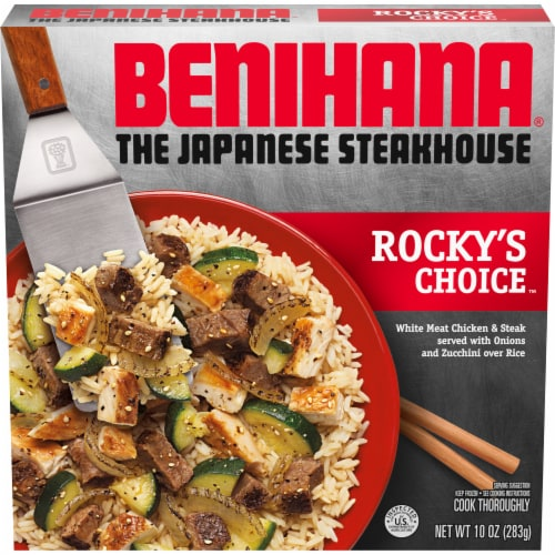 Benihana Rocky's Choice Frozen Meal Perspective: front