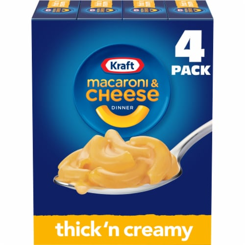 Kraft Thick 'n Creamy Macaroni and Cheese Dinner Perspective: front