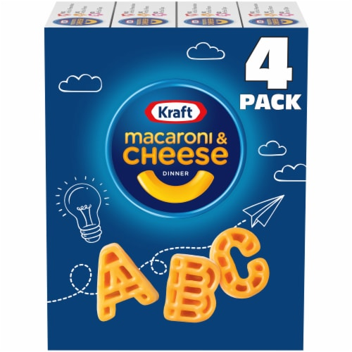 Kraft Crayola ABC Macaroni and Cheese Dinners Perspective: front
