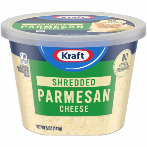 Kraft Shredded Natural Parmesan Cheese Perspective: front