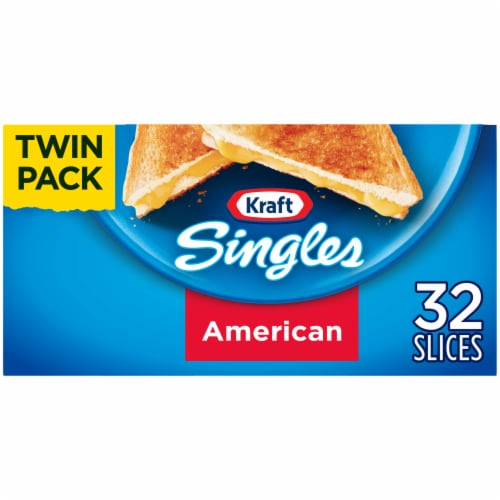 Kraft Singles American Cheese Slices Twin Pack Perspective: front