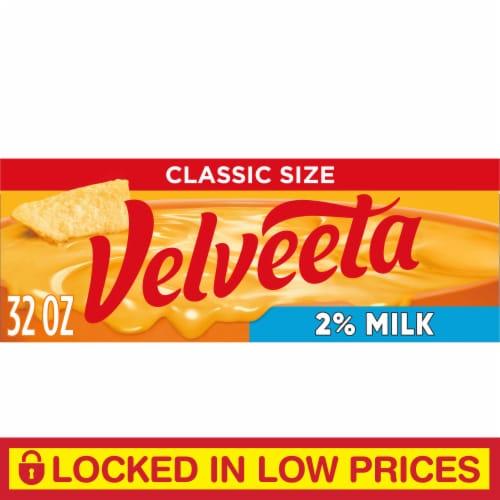 Velveeta 2% Milk Cheese Perspective: front