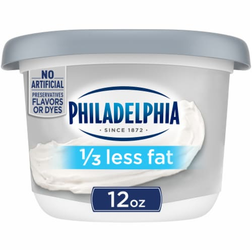 Philadelphia 1/3 Less Fat Cream Cheese Perspective: front
