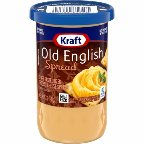 Kraft Old English Sharp Cheddar Cheese Spread Perspective: front