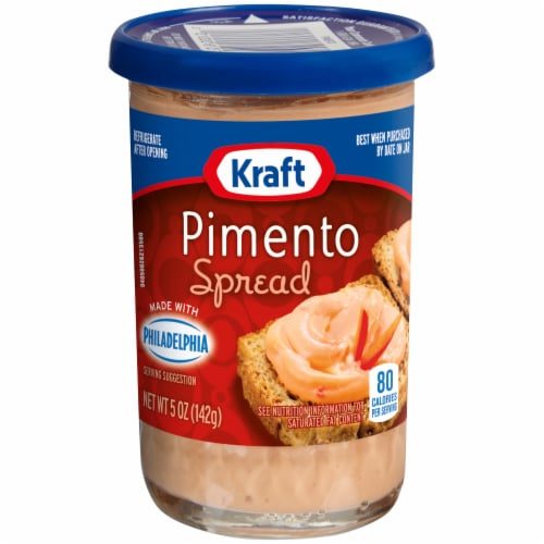 Kraft Pimento Cheese Spread Perspective: front