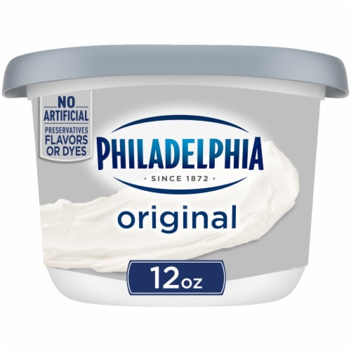 Philadelphia Original Cream Cheese Spread Perspective: front