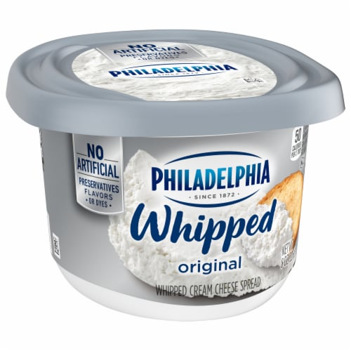 Philadelphia Original Whipped Cream Cheese Spread Perspective: front