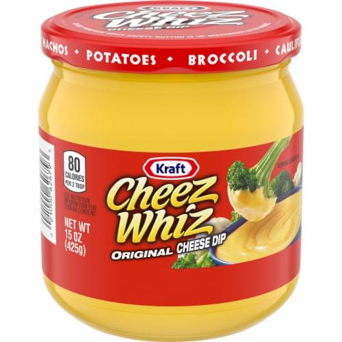 Kraft Cheez Whiz Original Cheese Dip Perspective: front