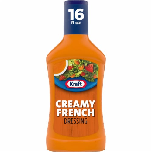 Kraft Creamy French Dressing Perspective: front