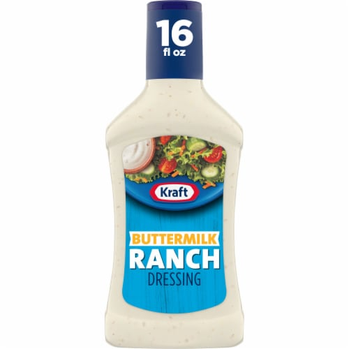 Kraft Buttermilk Ranch Dressing Perspective: front