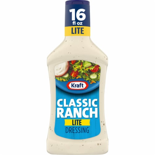 Kraft Classic Lite Ranch Dressing Perspective: front