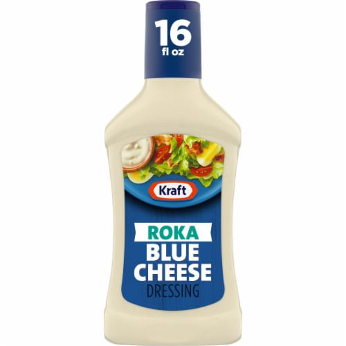 Kraft Roka Blue Cheese Dressing Perspective: front
