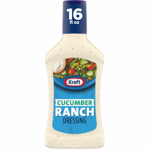 Kraft Cucumber Ranch Dressing Perspective: front